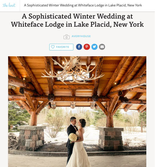 theknot.com feature article